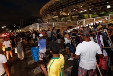 Motoristas enfrentam trânsito lento para show de Paul na Fonte Nova