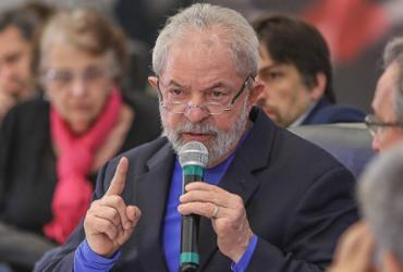 """Lula diz que será candidato à Presidência """"aconteça o que acontecer"""""""