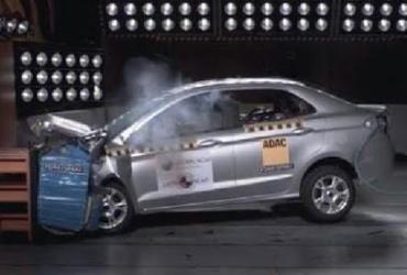 Ford Ka zera testes de colisão do Latin NCAP
