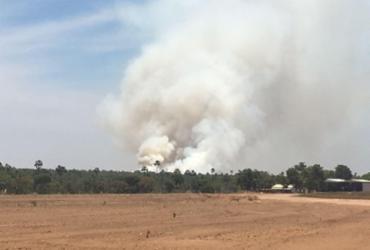 Operações de combate aos incêndios são intensificadas no Oeste da Bahia