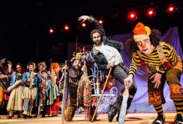 O musical utiliza a linguagem de circo, arte que emocionava Suassuna - Marcelo Rodolfo l Divulgação