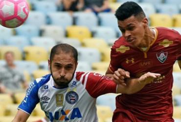 Bahia sai na frente, mas cede empate ao Fluminense
