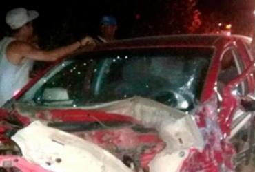 Acidente com quatro veículos deixa feridos na BA-290; motorista alcoolizado foi preso