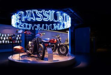 Triumph estreia Visitor Center na Inglaterra