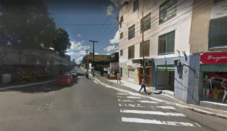 Comerciantes temem represália por morte de criminoso - Foto: Reprodução   Google Maps