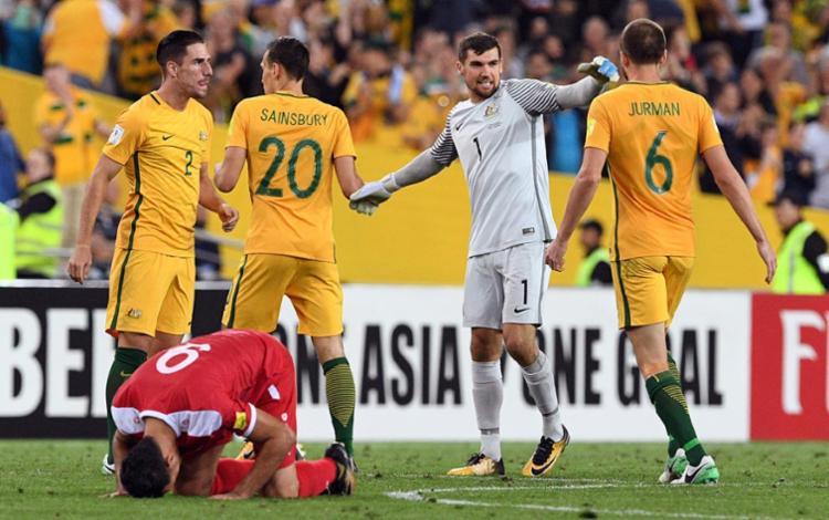 Austrália aguarda definição do seu adversário na repescagem mundial - Foto: William West | AFP