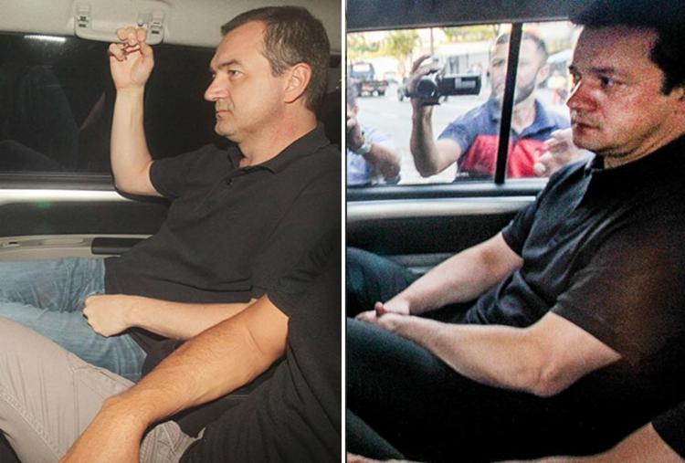 Os irmãos estão presos a pedido da Polícia Federal desde 13 de setembro - Foto: Fotos: Estadão Conteúdo e AFP