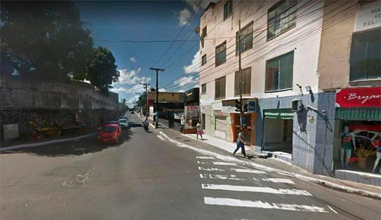 Rodoviários pararam de circular no bairro por falta de segurança - Foto: Reprodução | Google Maps