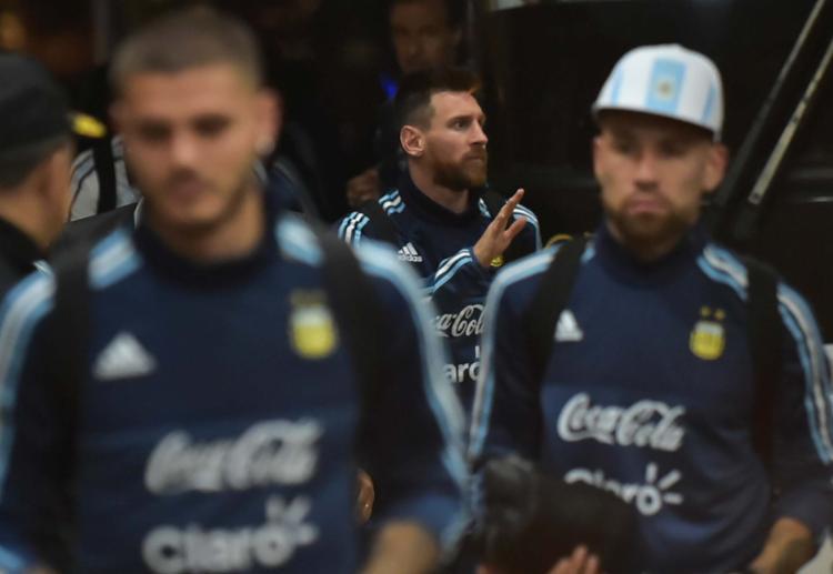 Argentina joga nesta terça-feira, 10, por um milagre - provavelmente de Lionel Messi - Foto: Rodrigo Buendia   AFP