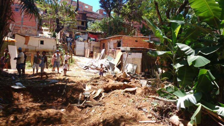 Famílias foram notificadas para deixar área do parque - Foto: Ubiratan Alves   Cidadão Repórter