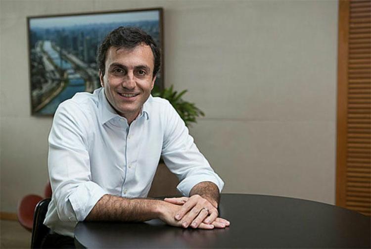 Tiago diz que o número de agentes de crédito do Santander irá dobrar na Bahia - Foto: Renato Suzuki | Divulgação