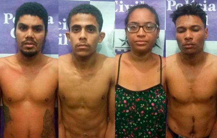 Suspeitos foram presos por investigadores da Coorpin de Ilhéus - Foto: Divulgação | SSP