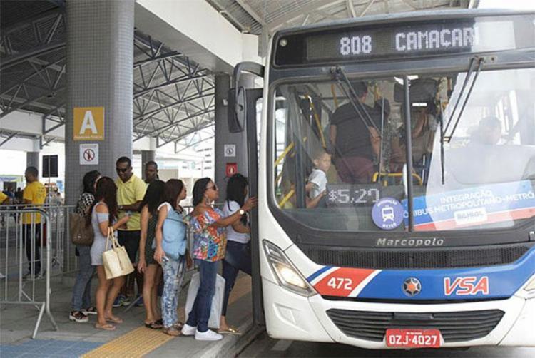 Estação de Mussurunga é ponto final de ônibus metropolitanos - Foto: Luciano da Matta | Ag. A TARDE