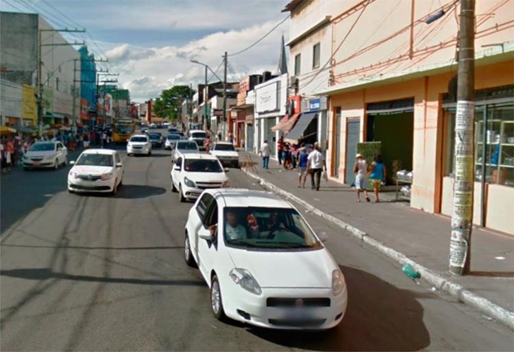 A casa lotérica fica na rua Padre Antônio de Sá, na Calçada - Foto: Reprodução | Google Maps