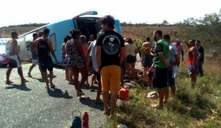 Segundo o delegado o Tarcísio Dantas, há registro que mostram o pivô do veículo quebrado - Foto: Reprodução   Augusto Urgente