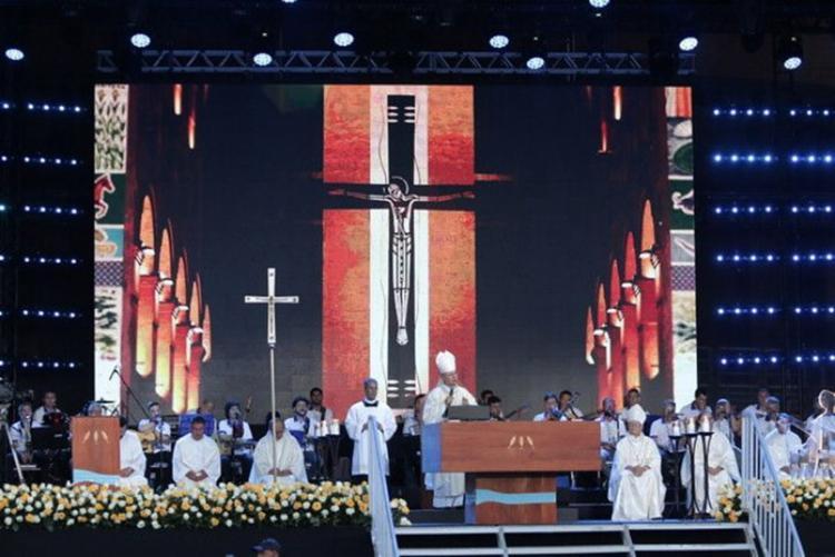 Missa de Nossa Senhora Aparecida no Santuário Nacional no dia da Padroeira do Brasil - Foto: Felipe Guimarães l Santuário Nacional