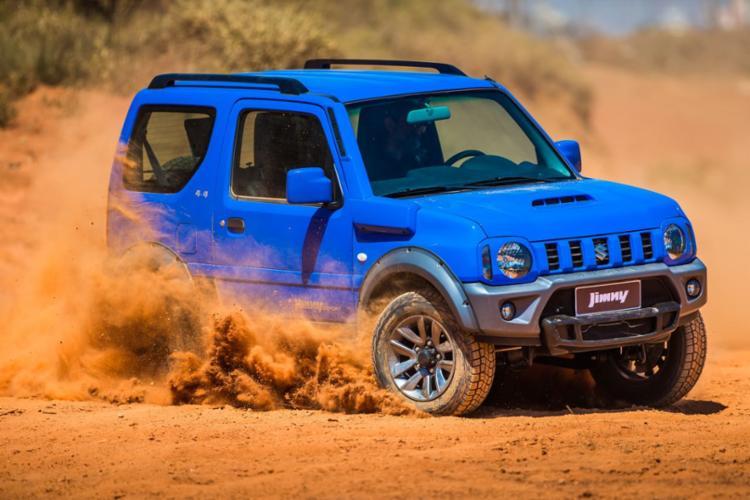 Utilitário 4x4 tem preços a partir de R$ 67.490 - Foto: Suzuki | Divulgação