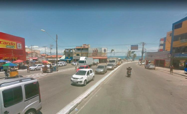 Elas ocupam a via sentido Sereia de Itapuã - Foto: Reprodução | Google Maps