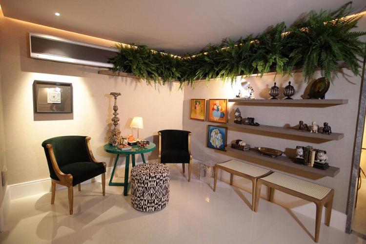 Segundo arquitetos e decoradores, as plantas dão toque de natureza à vida urbana, mesmo quando usadas em ambientes fechados - Foto: Lucas Silva l Divulgação