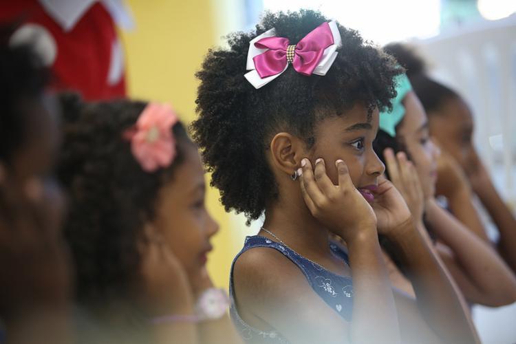 Evento teve como objetivo valorizar a beleza negra e a autoestima - Foto: Joá Souza l Ag. A TARDE