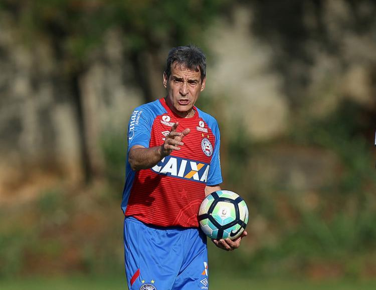 Carpé se deu bem contra o Timão em quatro oportunidades - Foto: Felipe Oliveira l EC Bahia