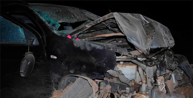 Veículo ficou com a frente destruída no acidente - Foto: Reprodução | Sigi Vilares