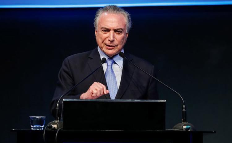 Advogado de Temer diz que a divulgação teve o 'claro propósito de causar estardalhaço' e constranger parlamentares - Foto: Marcos Corrêa l PR