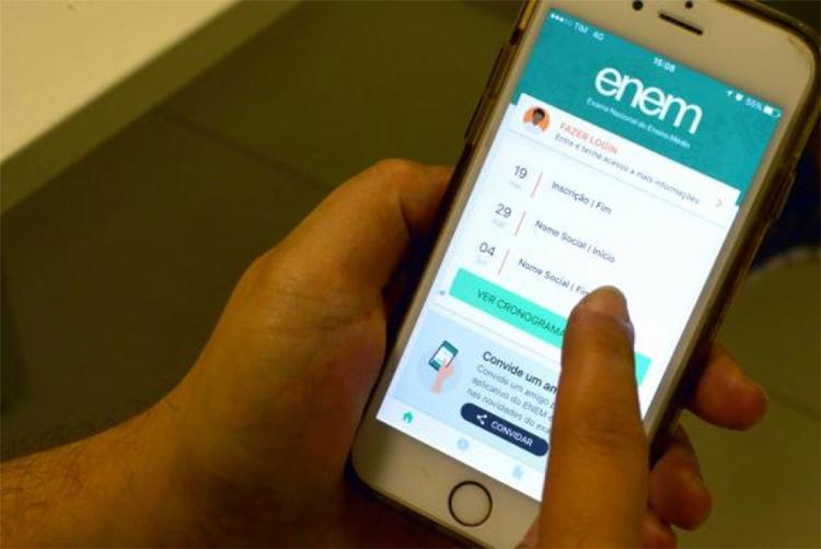 Aplicativo do Enem está disponível para os sistemas Android e IOS - Foto: Marcello Casal Jr l Arquivo l Agência Brasil
