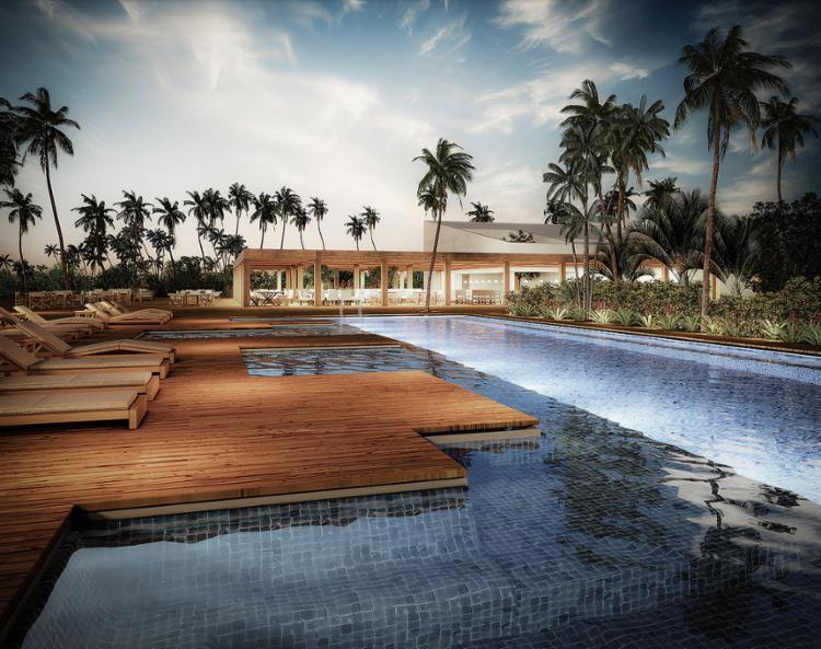 Localidade de Trancoso ganhará, em 2019, o reforço de um hotel da rede Fasano, com 40 quartos - Foto: Divulgação