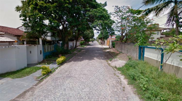 O crime aconteceu na rua Mem de Sá, em Eunápolis - Foto: Reprodução | Google Maps