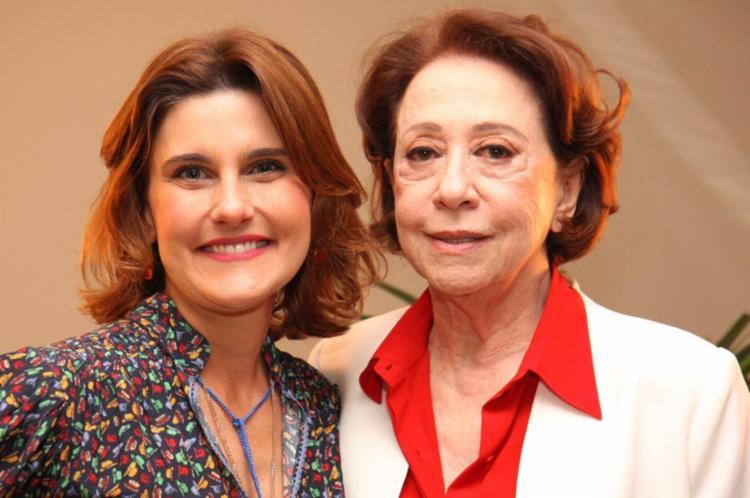 Simone Zuccolotto entrevista Fernanda Montenegro - Foto: Canal Brasil | Divulgação