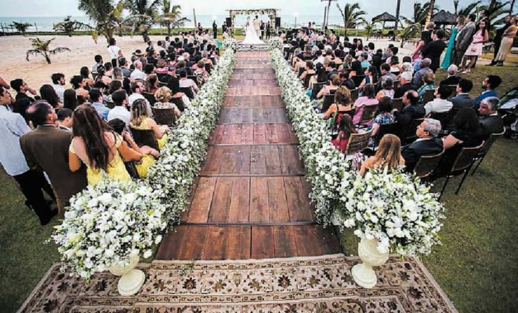 Fórum no dia 31 deve apresentar novas tendências, desde a ornamentação da área do altar à lua de mel dos clientes (os noivos) - Foto: Robson Nascimento | Divulgação