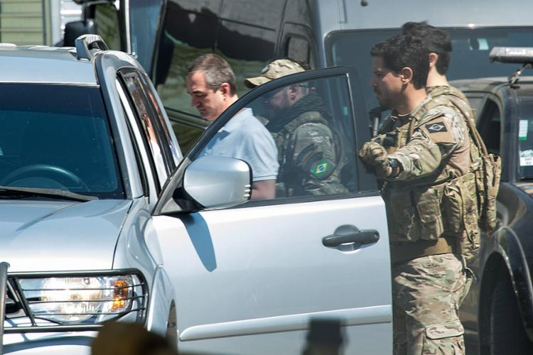 O empresário Joesley Batista, dono da JBS, está preso em SP - Foto: Nelson Almeida l AFP