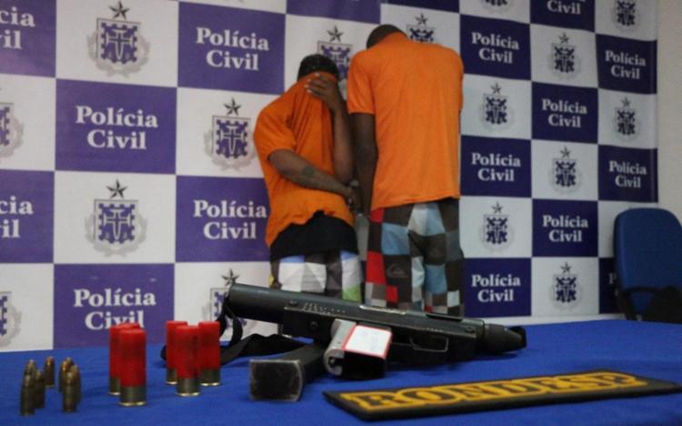 Submetralhadora é de uso restrito das Forças Armadas - Foto: Divulgação | SSP