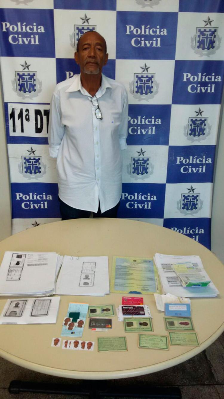 Arivaldo dos Santos Gomes confessou o crime na delegacia - Foto: Divulgação   Polícia Civil