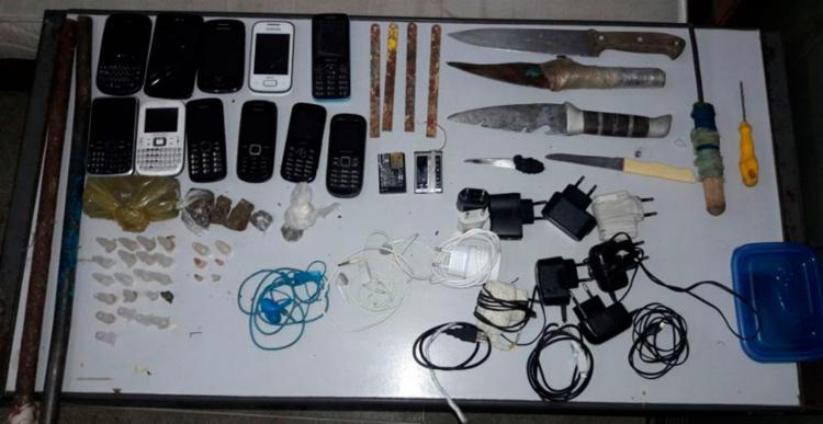 A polícia vai investigar como o material entrou na unidade - Foto: Divulgação | Polícia Civil