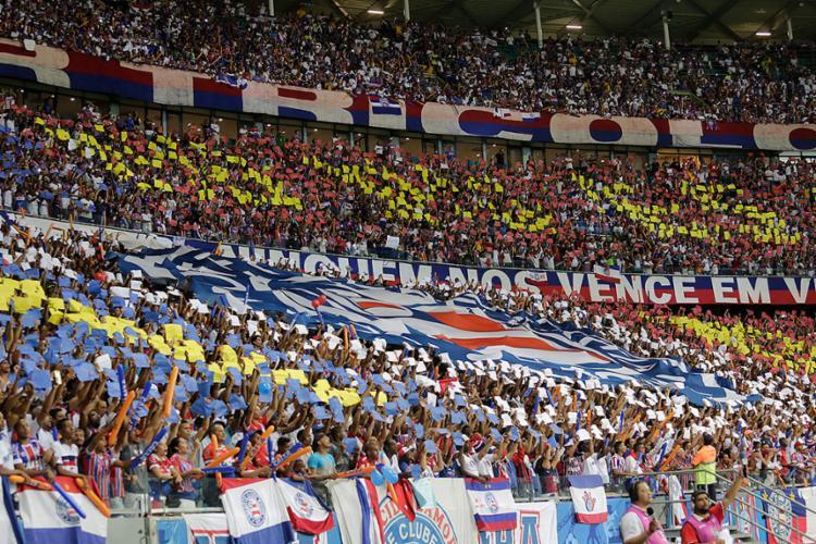 Qualquer torcedor tricolor já poderá comprar a sua entrada para o Ba-Vi de domingo - Foto: Margarida Neide l Ag. A TARDE