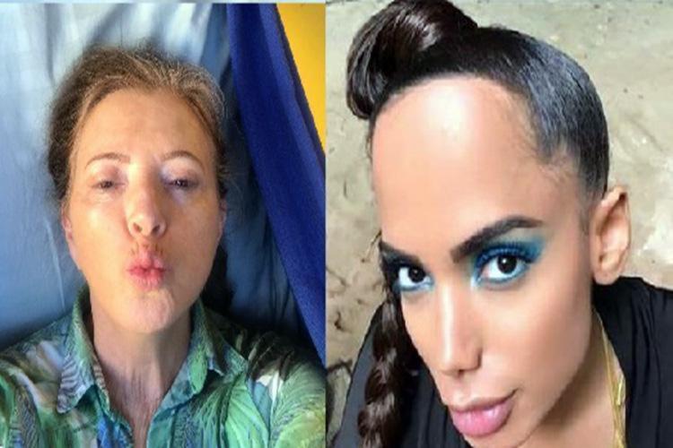 Francis Piovani criticou o visual da cantora no Instagram - Foto: Reprodução