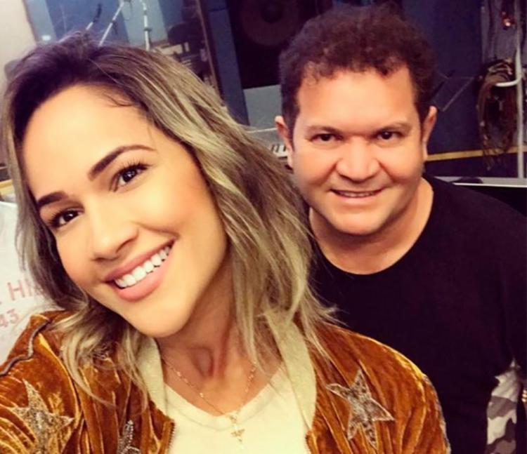 Michele Andrade anunciou que vai deixar o vocal da Banda X nesta segunda - Foto: Reprodução | Instagram
