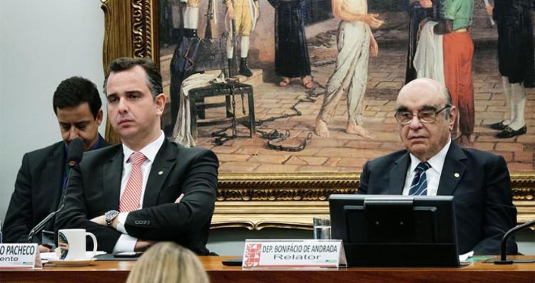 Deputados discutem relatório do deputado Bonifácio de Andrada - Foto: Will Shutter   Câmara dos Deputados