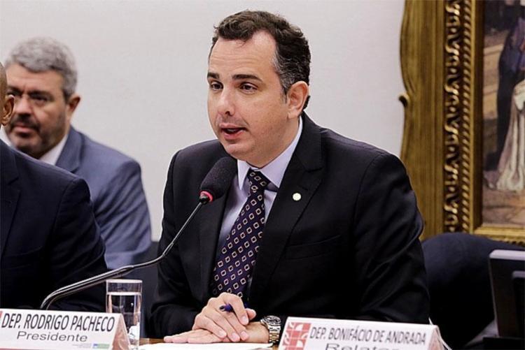 Deputado Rodrigo Pacheco é presidente da CCJ - Foto: Cleia Viana   Câmara dos Deputados