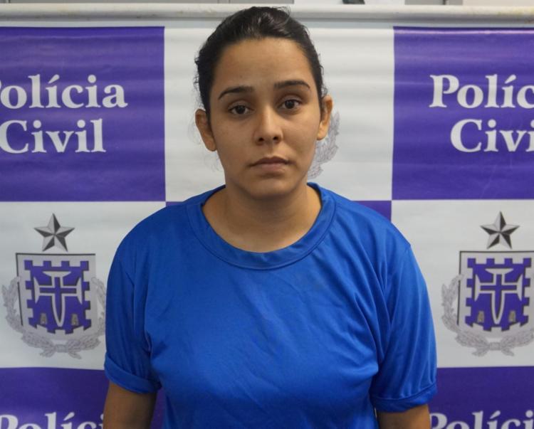 Ana Paula Ribeiro foi apresentada à imprensa na manhã desta quinta-feira, 19 - Foto: Divulgação | Polícia Civil