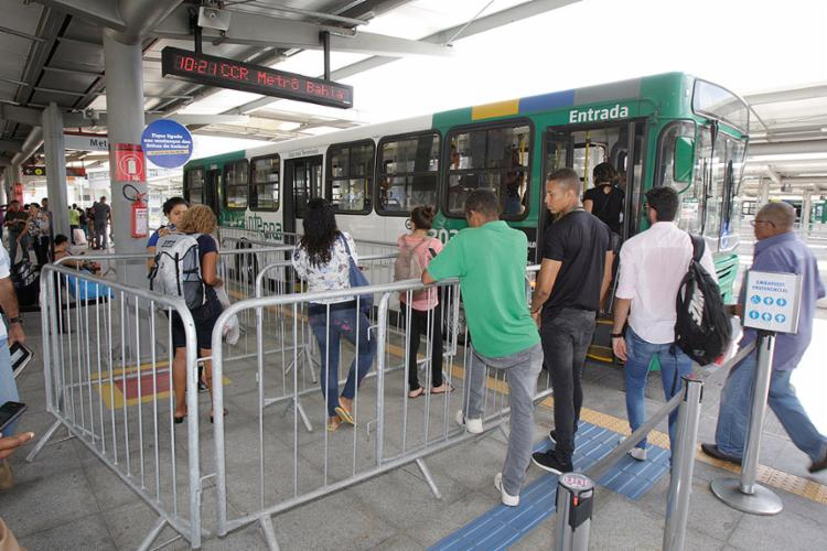 Nesta nova etapa, 16 bairros da capital baiana serão atingidos pela mudança - Foto: Luciano da Matta l Ag. A TARDE