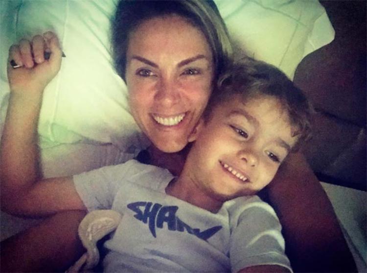 A apresentadora reagiu a uma seguidora que xingou seu filho de 3 anos - Foto: Reprodução | Instagram