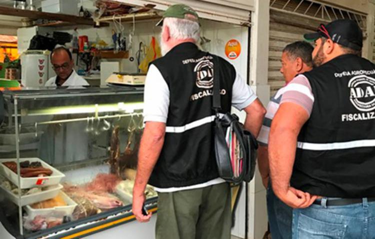 Operação realizou apreensões no Centro de Abastecimento de Jacobina - Foto: Divulgação   MP