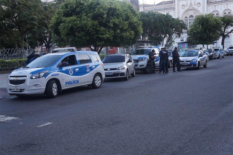 Em Salvador, a Polícia Civil cumpriu nove mandados de prisão - Foto: Divulgação l Polícia Civil