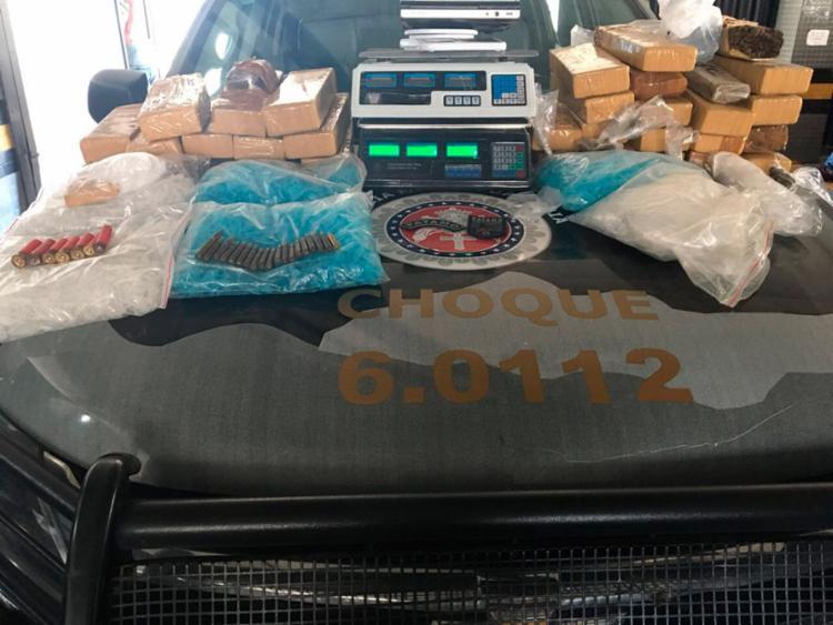 Material foi encontrado em uma casa na rua Leste 2 - Foto: Divulgação | SSP-BA