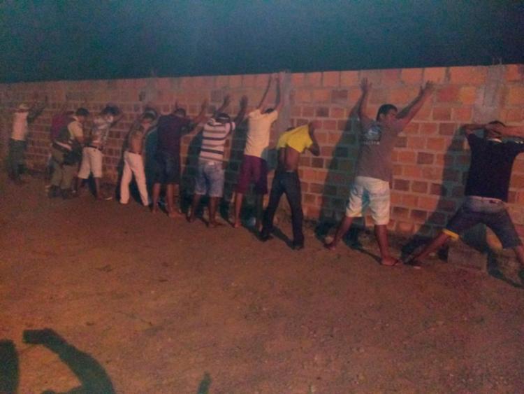 Todos os presos foram encaminhados à Delegacia Territorial - Foto: Divulgação   SSP-BA
