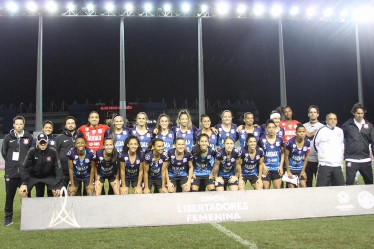 Corinthians / Audax conquistou a Libertadores Feminina - Foto: Reprodução de Facebook