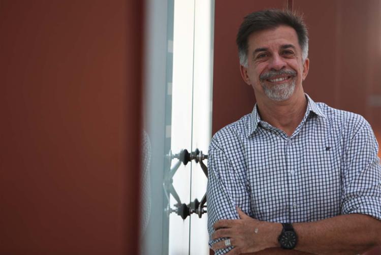 Fernando Guerreiro no Teatro Gregório e Mattos - Foto: Joá Souza   Ag A TARDE